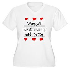 Waylon Loves Momm T-Shirt