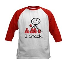Sport Stacking Red Cups Tee