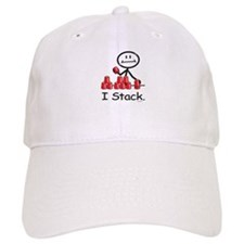 Sport Stacking Red Cups Baseball Cap