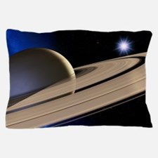 Saturn's rings Pillow Case