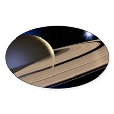 Saturn's rings Decal