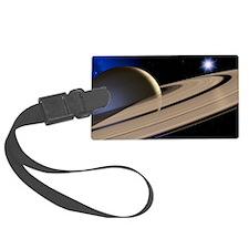 Saturn's rings Luggage Tag