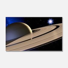 Saturn's rings Car Magnet 20 x 12