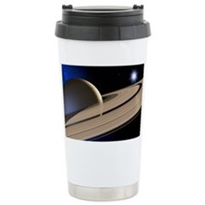 Saturn's rings Travel Mug