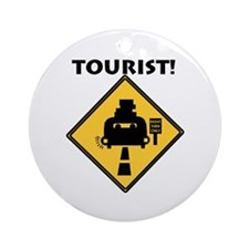 Tourist Ornament (Round)