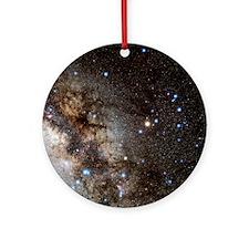 Scorpius constellation Round Ornament