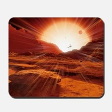 Proxima Centauri planet, artwork Mousepad