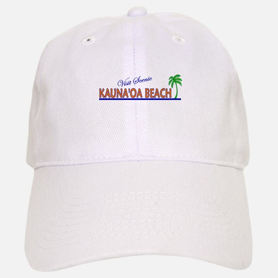 Visit Scenic Kauna'oa Beach, Baseball Baseball Cap