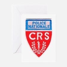 French National Police Greeting Cards (Package of