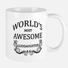 World's Most Awesome Goddaughter Mug