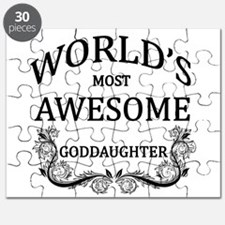 World's Most Awesome Goddaughter Puzzle