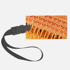 Sensory hair cells in ear, SEM Luggage Tag