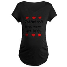 Johnathon Loves Mommy and D T-Shirt