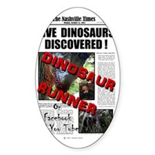 Live Dinosaurs Discovered ! Decal