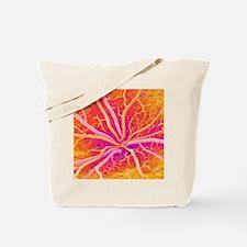 Retina blood vessels, SEM Tote Bag