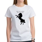 May the horse be with you Women's T-Shirt