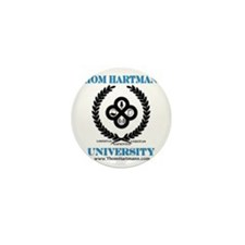 TH University Crest Mini Button