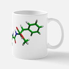 Aspartame molecule Mug