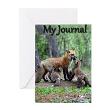 journal Greeting Card