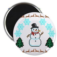 Ugly Holiday Sweater Funny Magnet