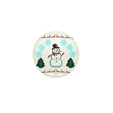 Ugly Holiday Sweater Funny Mini Button