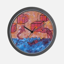 Found the Fish Wall Clock