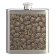 Seeds of the castor oil plant Flask