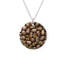 Seeds of the castor oil plan Necklace