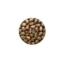 Seeds of the castor oil plant Mini Button