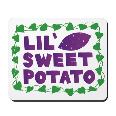 Lil Sweet Potato Mousepad