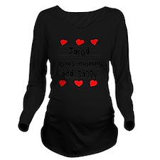 Jarod Loves Mommy an Long Sleeve Maternity T-Shirt