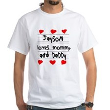 Jayson Loves Mommy and Daddy Shirt