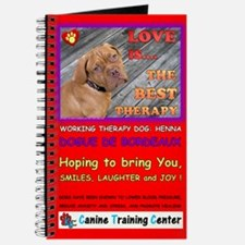 Custom Therapy Dog, Journal