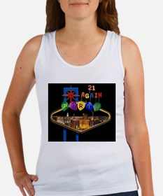 Las Vegas 21 Again Party Women's Tank Top