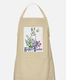 Happy Easter Rabbit BBQ Apron