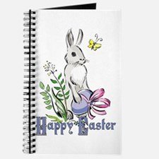 Happy Easter Rabbit Journal