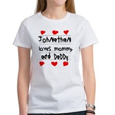 Johnathan Loves Mommy and Daddy Tee
