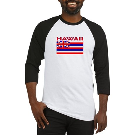 Hawaii Flag (Light) Baseball Jersey