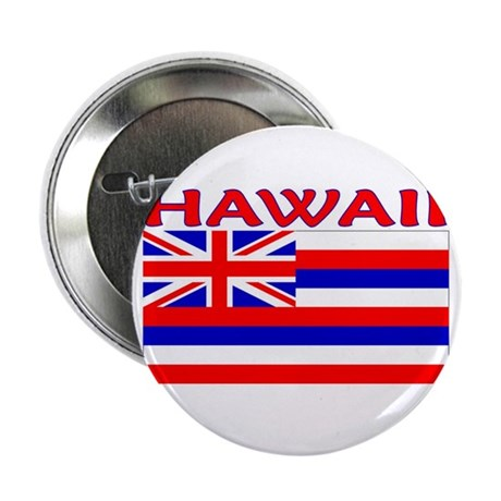 """Hawaii Flag (Light) 2.25"""" Button (10 pack)"""