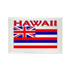 Hawaii Flag (Light) Rectangle Magnet (10 pack)