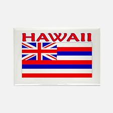 Hawaii Flag (Light) Rectangle Magnet (10 pack)