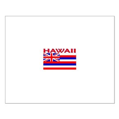 Hawaii Flag (Light) Posters