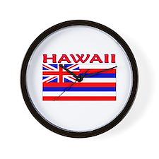 Hawaii Flag (Light) Wall Clock