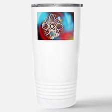 Art representing a bery Stainless Steel Travel Mug