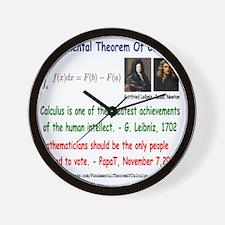 FTC Wall Clock