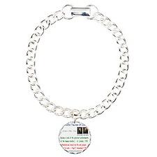 FTC Charm Bracelet, One Charm
