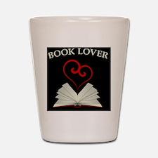 Book Lovers Stuff Logo Shot Glass