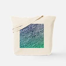 Bacterial biofilm, light micrograph Tote Bag