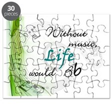 Without Music, Life Would Bb-by soda Puzzle