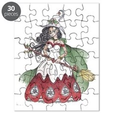 Yuletide Witch Puzzle